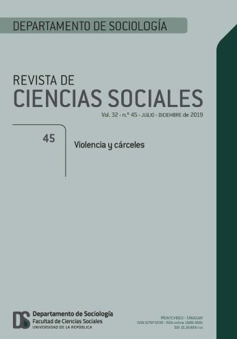 Tapa de la Revista de Ciencias Sociales