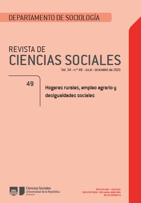 Hogares rurales, empleo agrario y desigualdades sociales